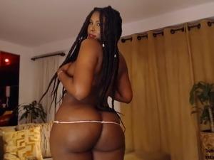 Delicious Black Sexqueen Has Big Round Ass