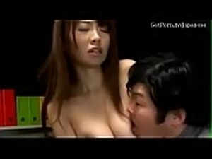 Pretty Asian girl gets stripped and groped by a pervert