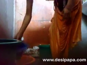 mature indian bhabhi in shower free
