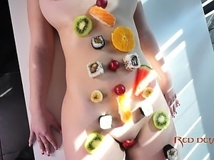 SUSHI AND DOUBLE PENETRATION