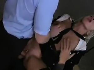 Blonde Bitch Fucked In Prison