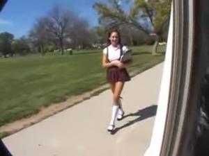 Brunette schoolgirl fucked www.beeg18.com free