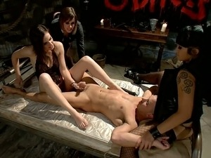 Female domination. Interview