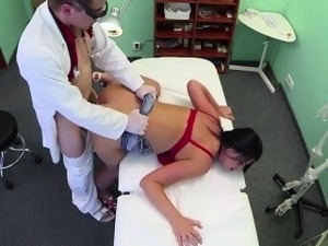 Sexy milf gets healed by doctors cock