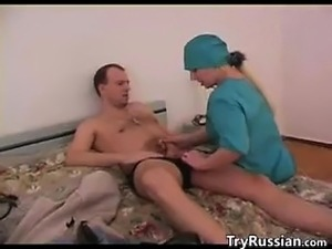 Russian Nurse Having Sex With A Patient