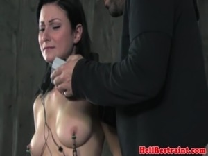 TT NT sub punished with nipple suction free
