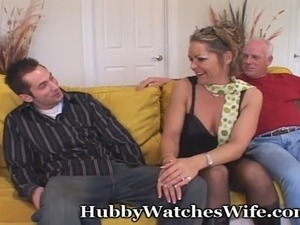Kelly comes over with her hubby in search of fulfilling a fantasy of getting...