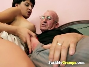 the old man can teach her free
