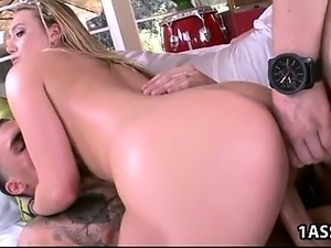 Double Penetration with perfect ass AJ Applegate