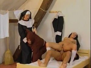 Monks and Nuns Foursome Fucking free
