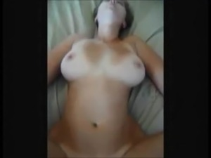 Big boobed wife fucked on real homemade free