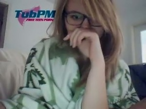 Amazing Young Cam Teen With Glasses