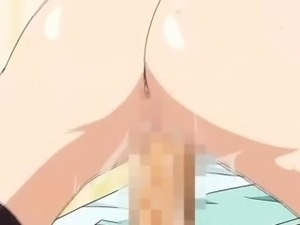Hottest romance anime video with uncensored big tits, group