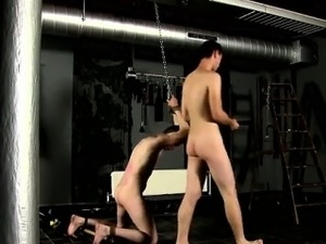 Gay XXX Flogged And Face Fucked