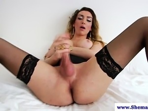 Amateur tranny shemale solo loving