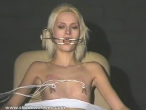 Extreme needle tortures and hardcore bdsm of blonde slavegirl in severe...