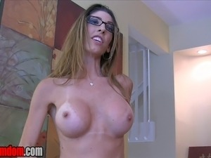 """Dava Foxx wants to turn you into her cum guzzling slut.  """"You want me to be..."""