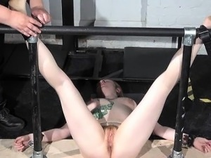 Precious extreme tit tortures and hardcore bdsm