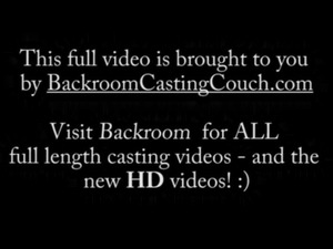 Russian Teen Casting - Full Backroom Video free