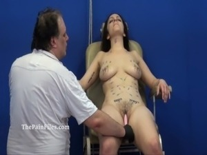 Extreme needle tortures and merciless punishment of amateur slavegirl free