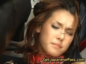 Maria ozawa gets bound and fucked free