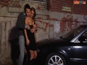 Car Sex in Alley free