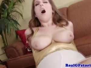 Reality exgf assfucking his hard cock and cant get enough