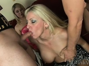 When two horny couples crave a little wife swapping action,