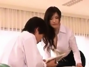 Sexy Asian Teacher Being A Tease Softcore