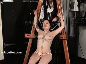Asian bondage babe Devil