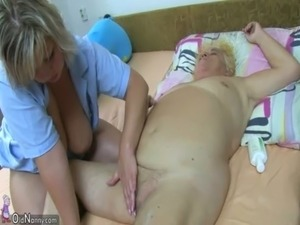 OldNanny Fat big granny have a sex with young guy free