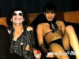 Gay porn This clip is a bit weird with the outfits but it was a