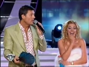 Virginia Gallardo - Bailando 2010 - Strip Dance free
