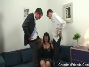 Fat bitch getting double fucked after photosession free