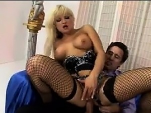Blonde Russian MILF In A Double Penetration