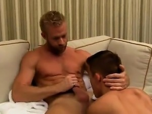 Naked guys Andy Taylor, Ryker Madison, and Ian Levine were t