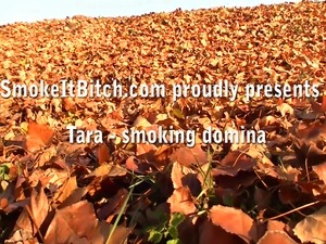 as it's best - another great smoking fetish video clip from SmokeItBitch.com...