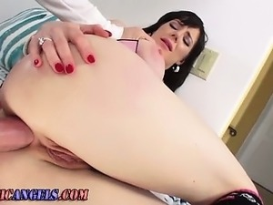 Mature nasty babe anal drilling