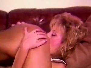 retro 80s lesbian interracial