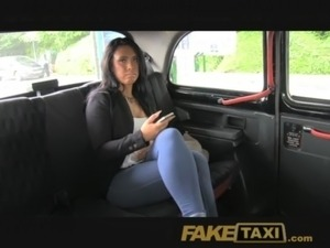 Faketaxi Suck My Cock To The Balls Or Walk Free