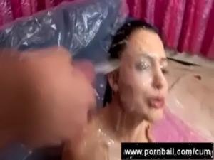 Facial cream gangbang free