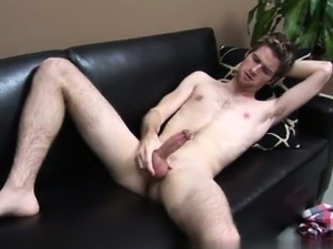 Hot gay Showing off his unshaved armpits, Blake just sneered