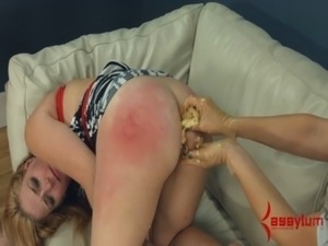 Anal slop and slap free