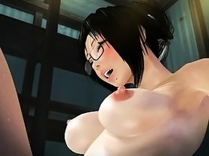 Hentai 3D hairy pussy