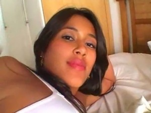 Nacho Vidal creampie para una latina morena free