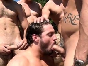 Brett Carter and pals orgy on a boat