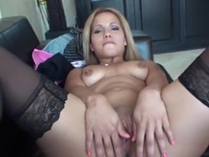 Fucking a casting hottie hard
