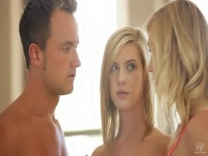 Nubile Films - Hayden Hawkens loans her mans cock to her cute girlfriend free