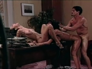 Anna Malle and Asia Carerra Threesome