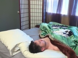 Stepmother gives NOT her son a rude awakening